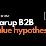 Header - building your startup b2b value hypothesis